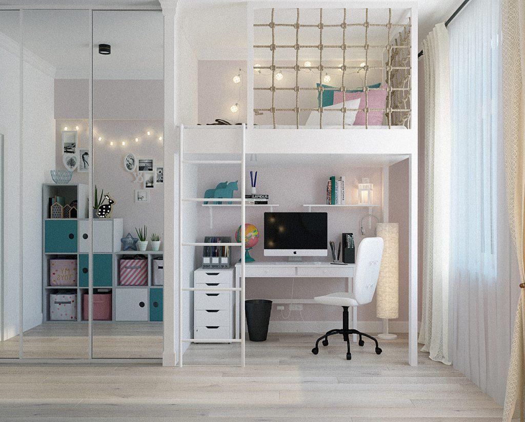 aménager petite chambre ado